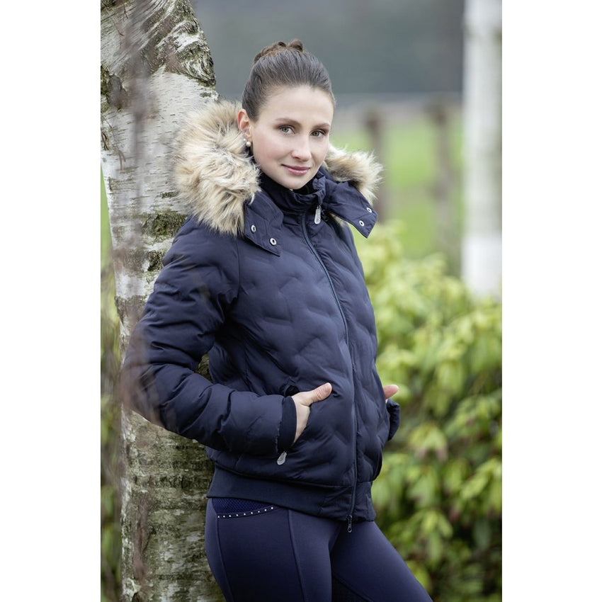 Ladies Laser Quilt Riding Jacket