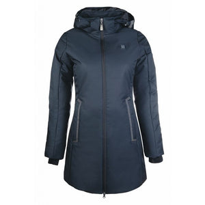 Winter riding jacket with heating