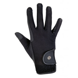 Black Summer Riding Gloves Style