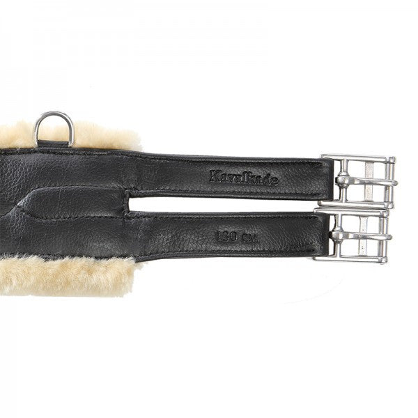 Artificial Leather Girth with Medical Lambswool