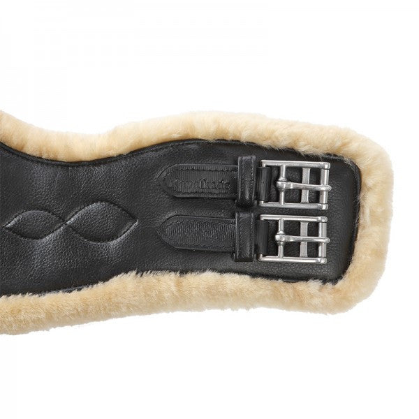 Artificial Leather Dressage Girth with Medical Lambswool