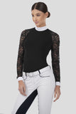 Long Sleeve Lace Competition Shirt