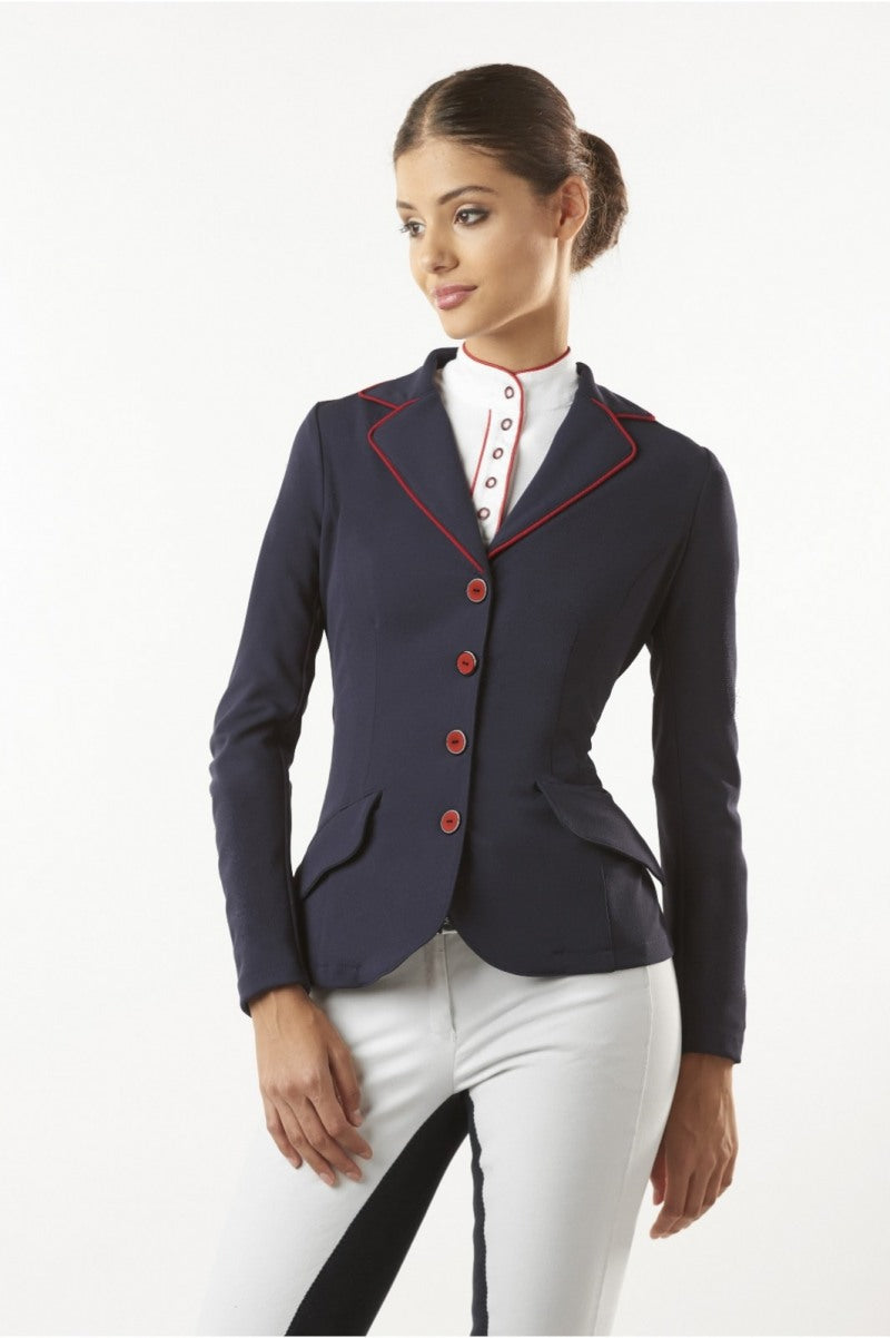 Black and Red Ladies Show Jacket