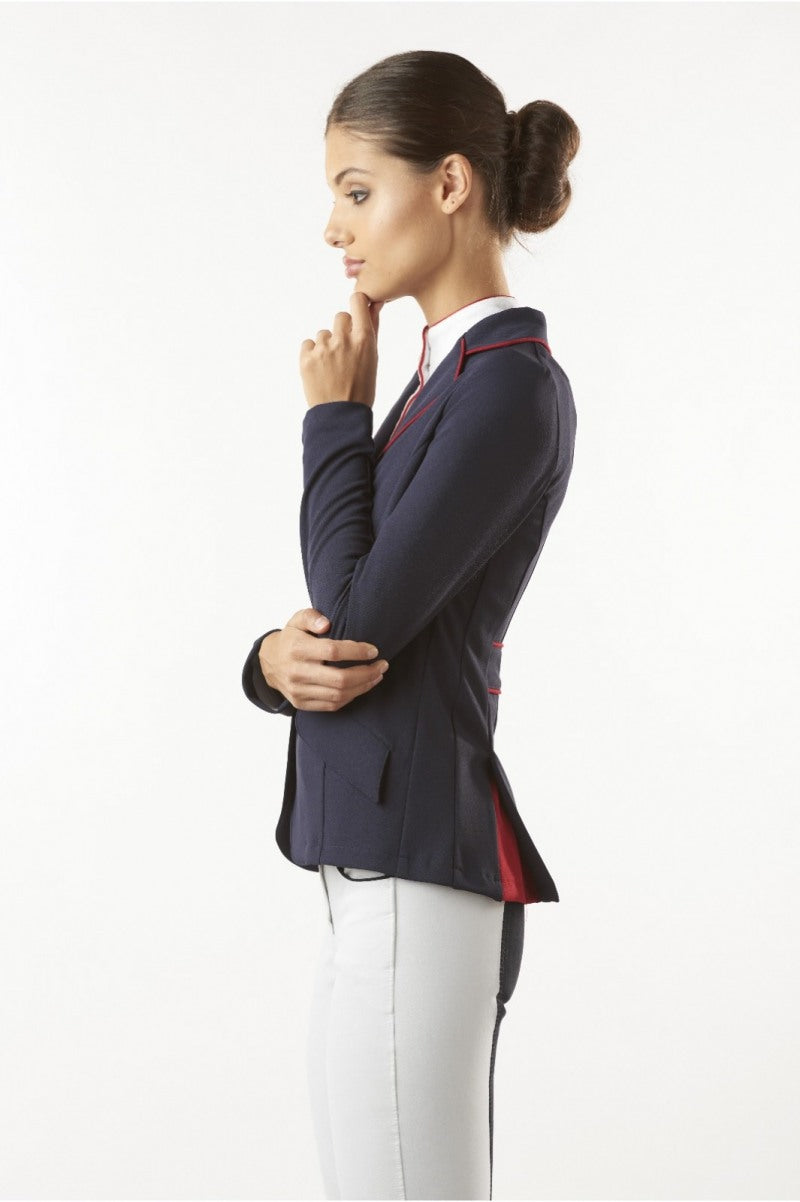 Longer length dressage jacket