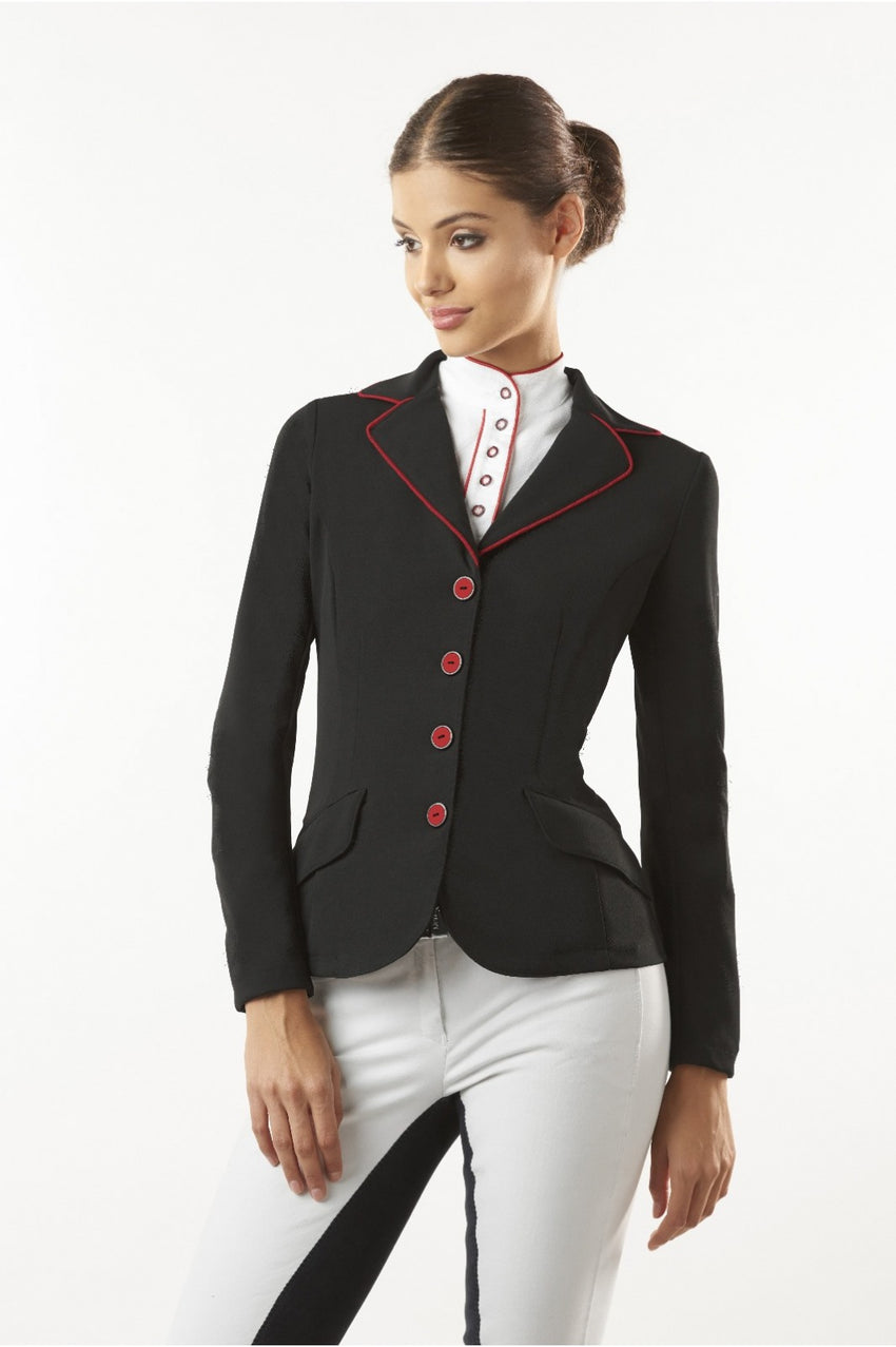 Black Womens Dressage Show Jacket