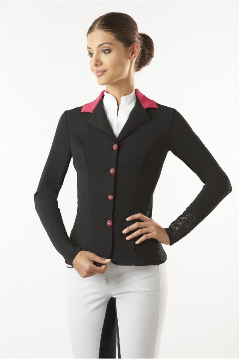 Pink Collar Competition Jacket