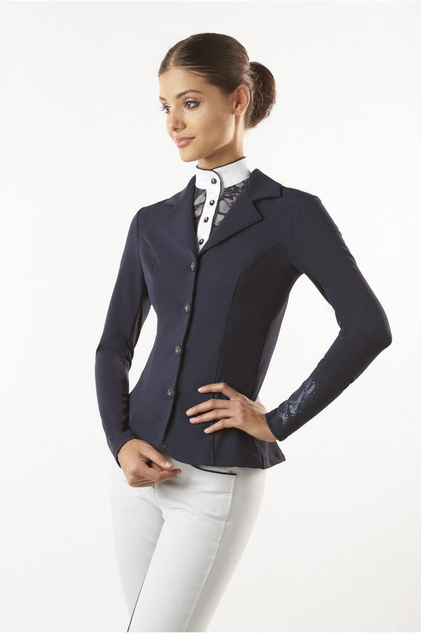 Black Competition Jacket for show jumping