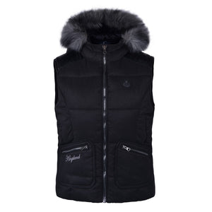 Kingsland Vest with Fur Hood