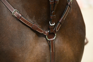 PSOS martingale with white stitches