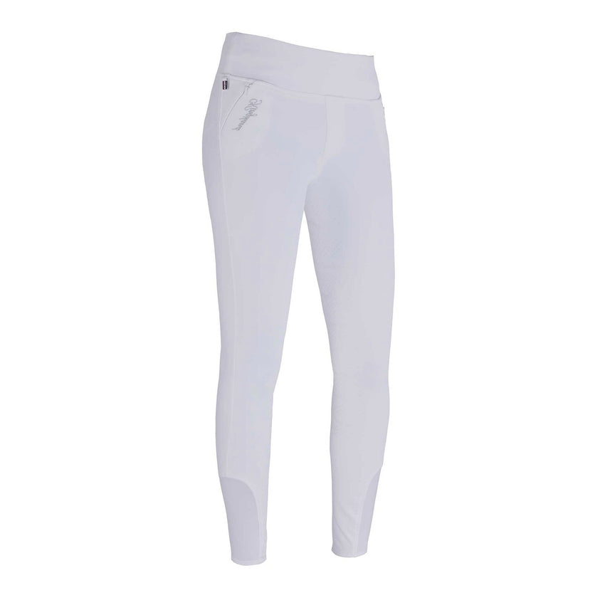 White Competition leggings