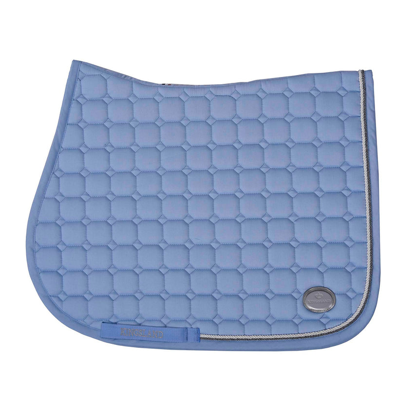 Pale Blue Saddle Pad