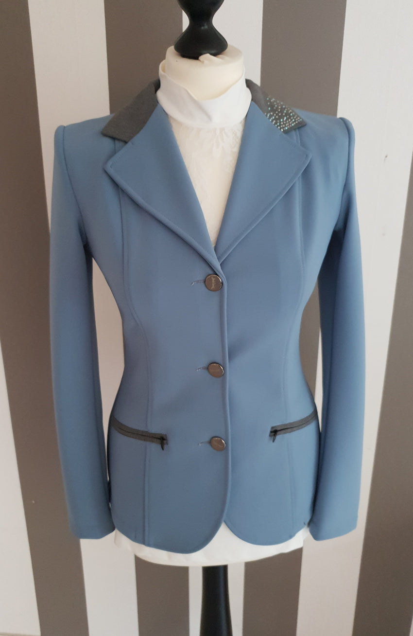 Light Blue Show Jumping Jacket