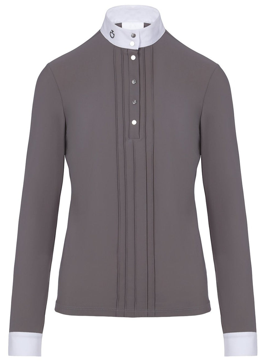 Toscana Ladies Show Shirt with Front Pleats