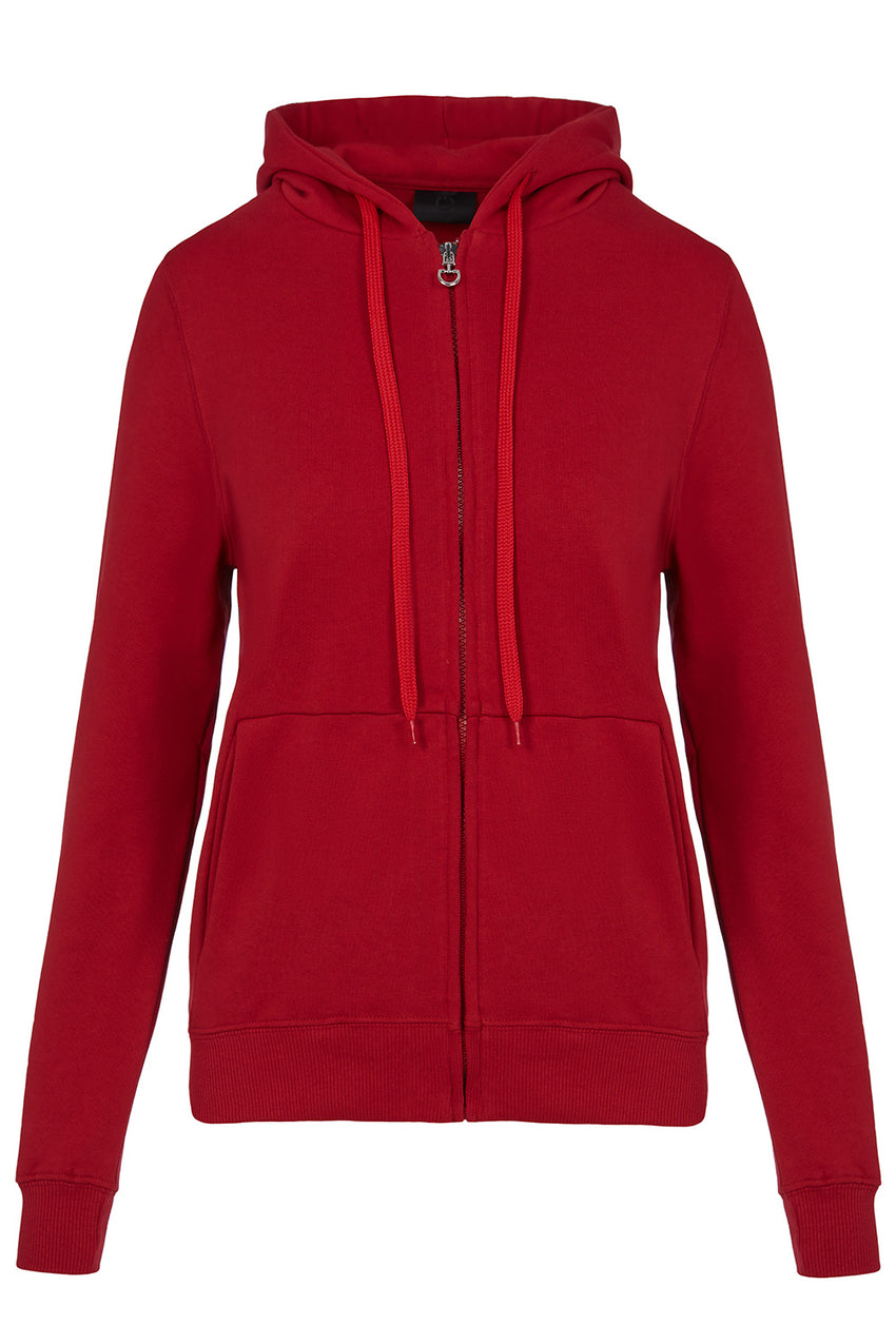 Toscana Red Ladies Sweat Shirt