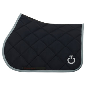 Cavalleria Toscana Saddle Pad Rhombi-quilted jumping