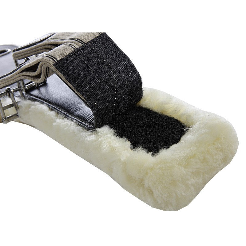 Stud Guard Girth with Fully Removable Sheepskin