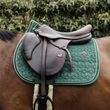 Dark Green Jumping Saddle Cloth