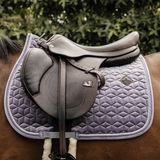 Purple Saddle Cloth