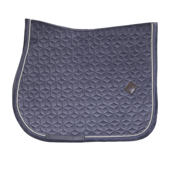 Purple Show Jumping Saddle Pad