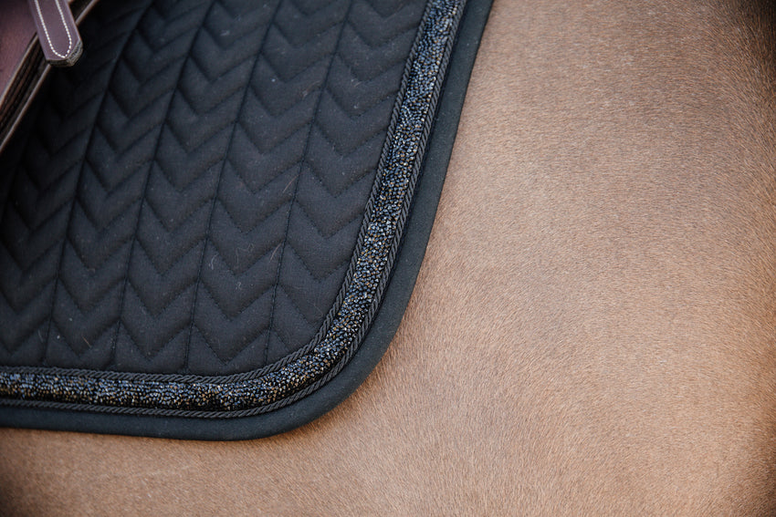 Glitter Saddle pad