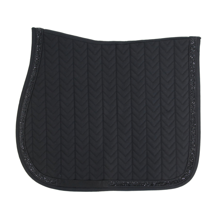 Black Dressage Square