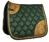 Dark Green Saddle Pad