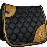 Dark Blue Saddle Blanket