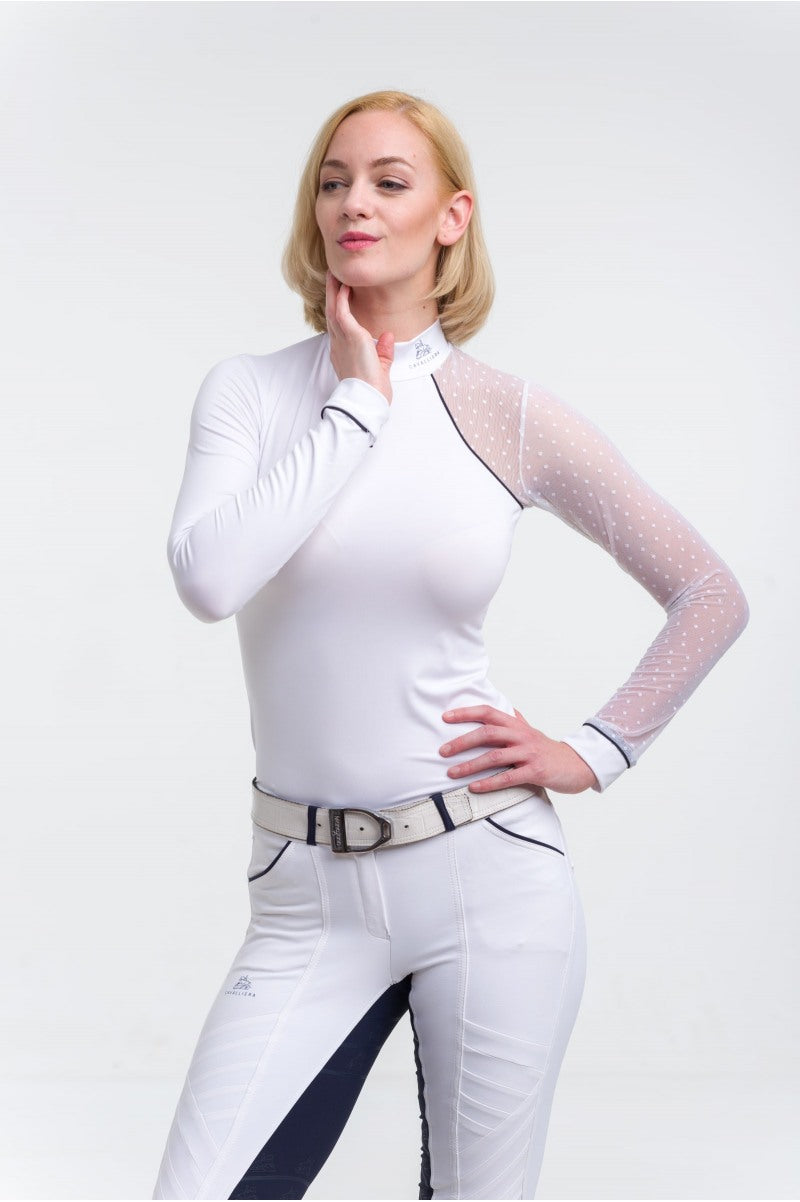 Riding Long Sleeve Show Shirt Modern Dame