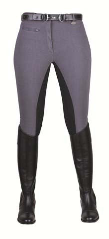 Breeches Stretchy 3/4 Imitation Suede Seat