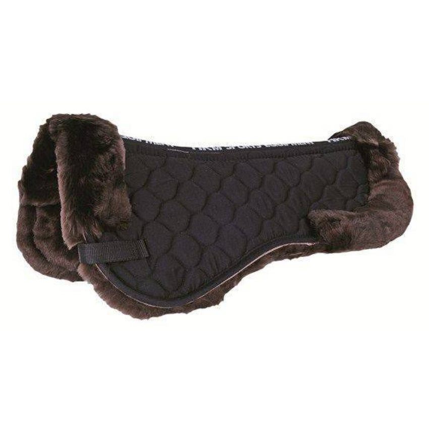 lambswool saddle pad