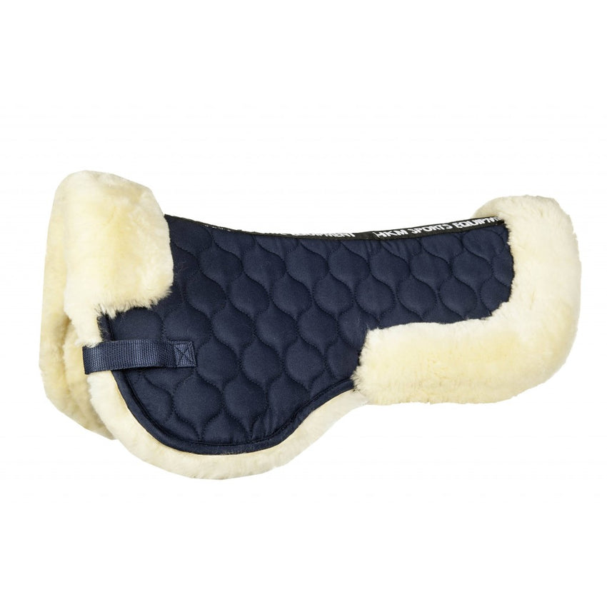 navy natural halfpad