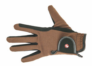 Riding Gloves Professional Nubuk Look