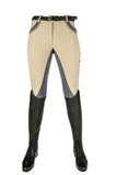 Breeches Silver Stream with Silicon Knee Patch