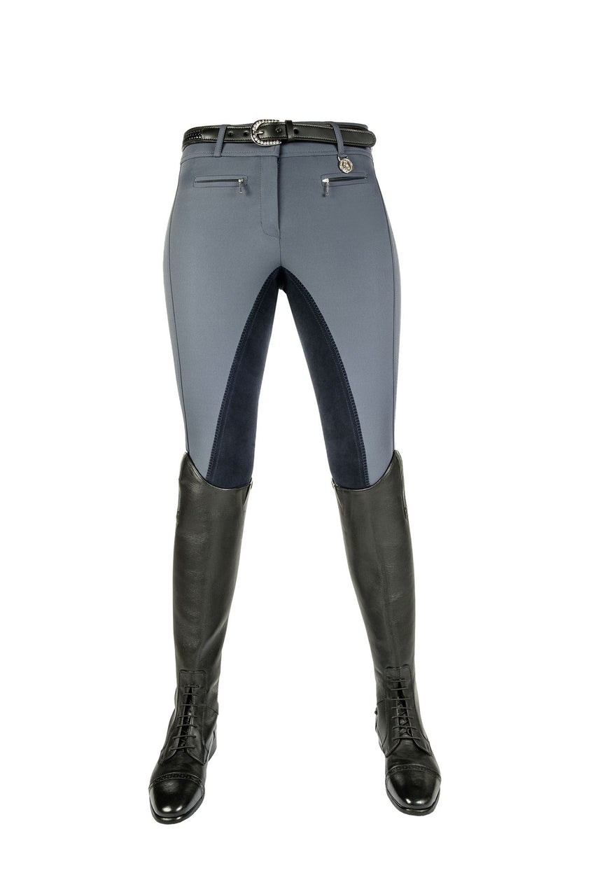 Breeches Silver Stream Crystal with 3/4 Alos Seat