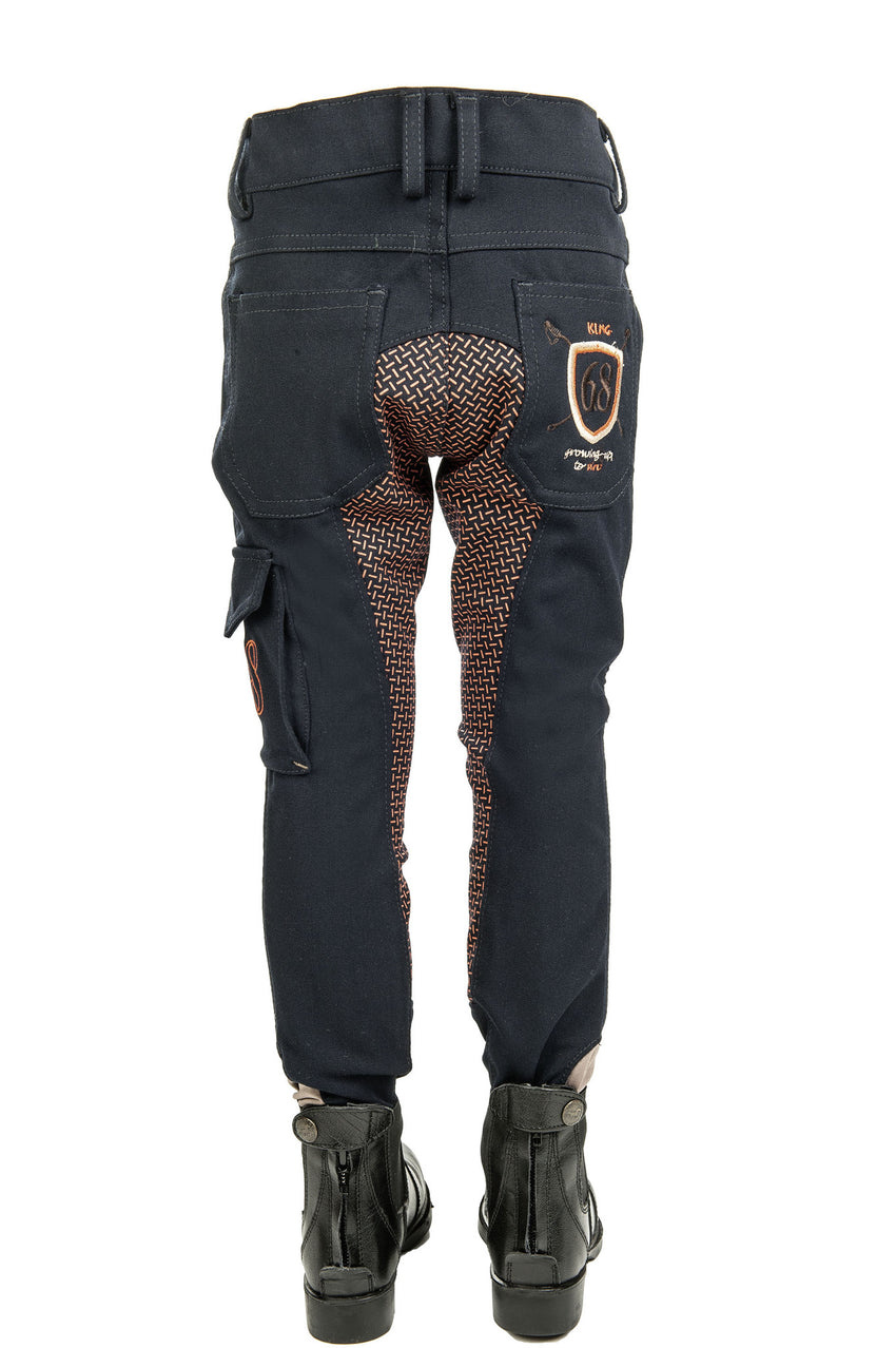 Breeches King with Full Silicone Seat