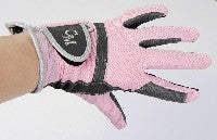 Pink Riding Gloves