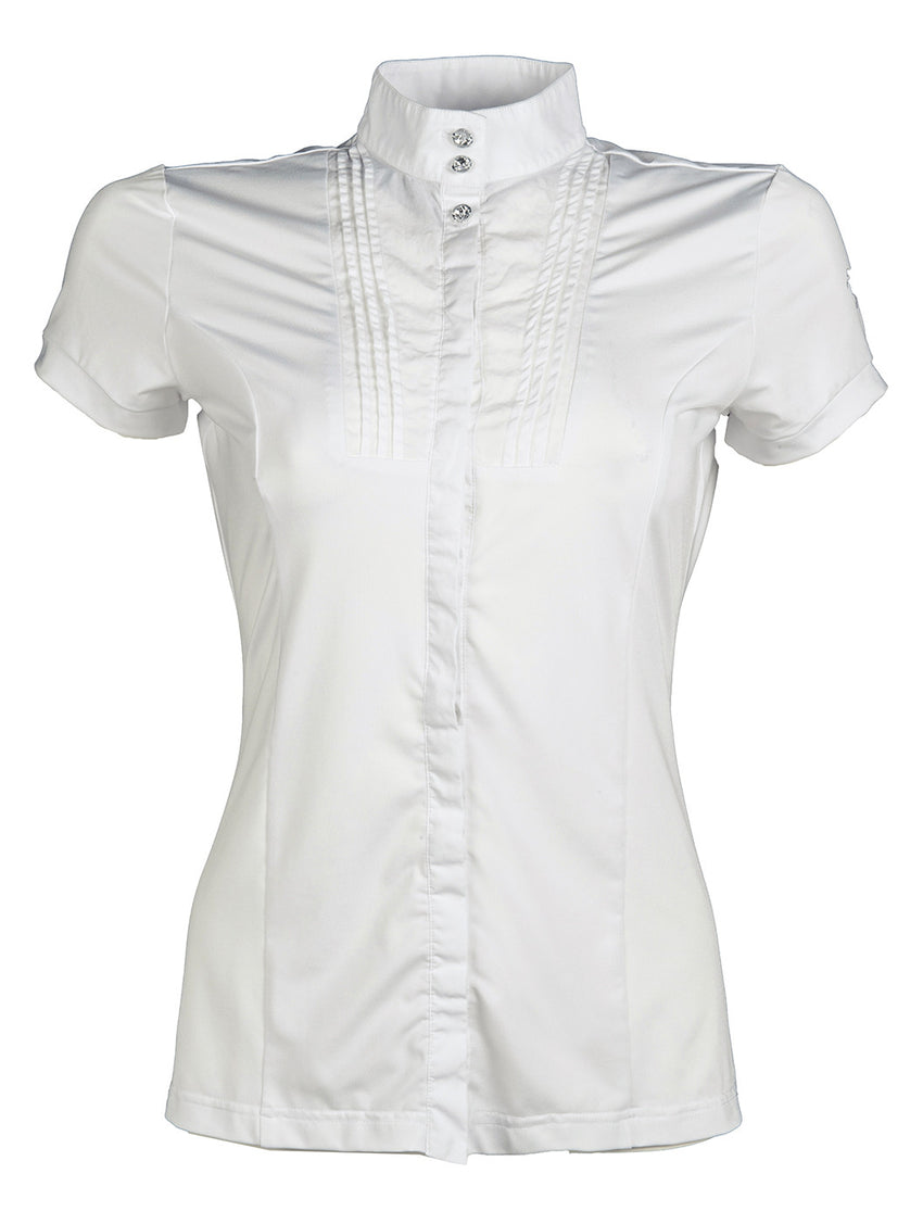 Ladies White Show Shirt