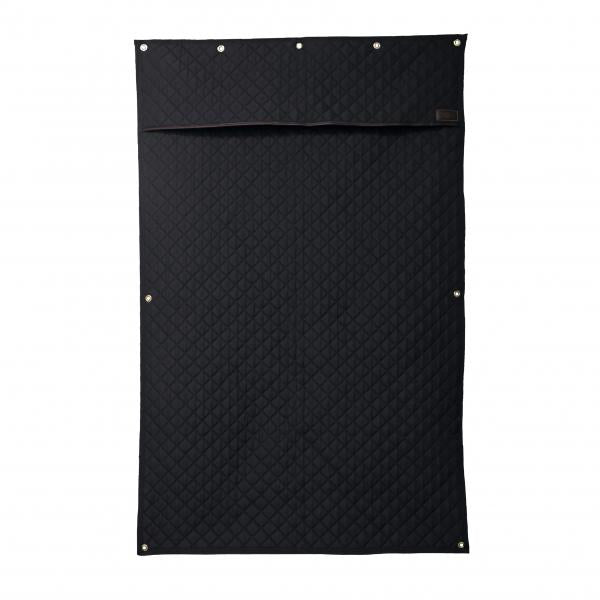 Black Stable Curtain