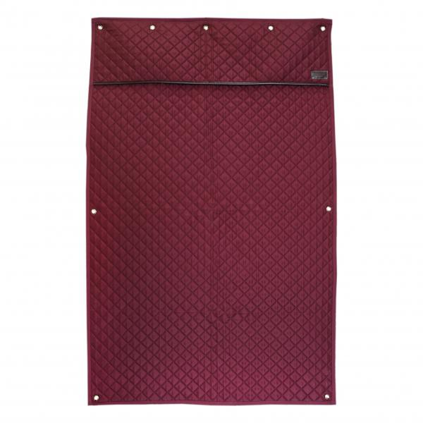 Burgundy Stable Curtains