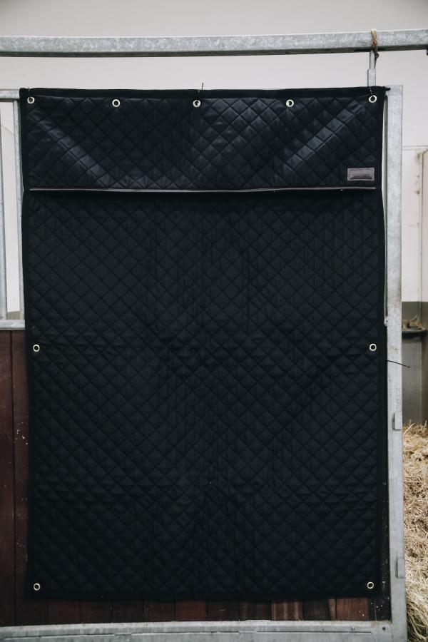 Black Kentucky Stable Curtain