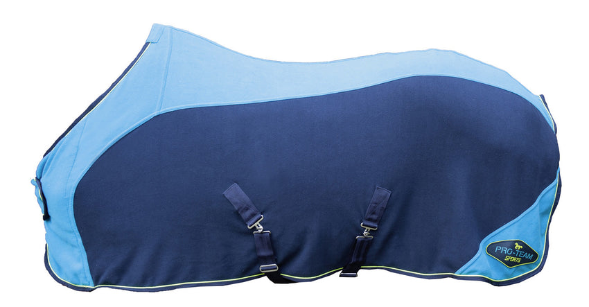 Bright Blue Fleece Rug
