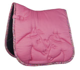 Pink Pony Saddle Cloth
