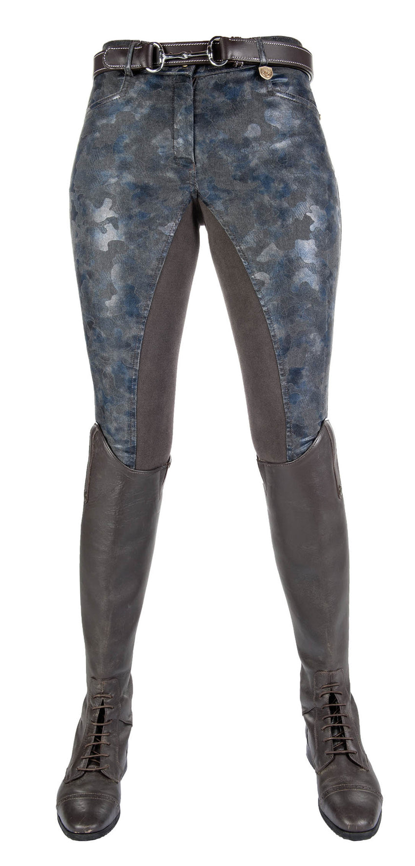 Breeches Roma Camouflage with 3/4 Alos Seat