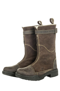 3/4 Boots Yorck with Faux Fur Lining