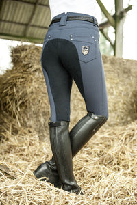 Navy High Waisted Breeches
