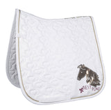 White Pony Saddle Pad