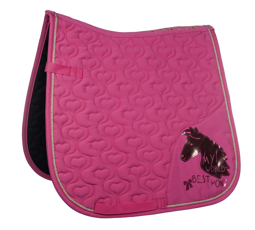 Pink Pony Saddle Blanket