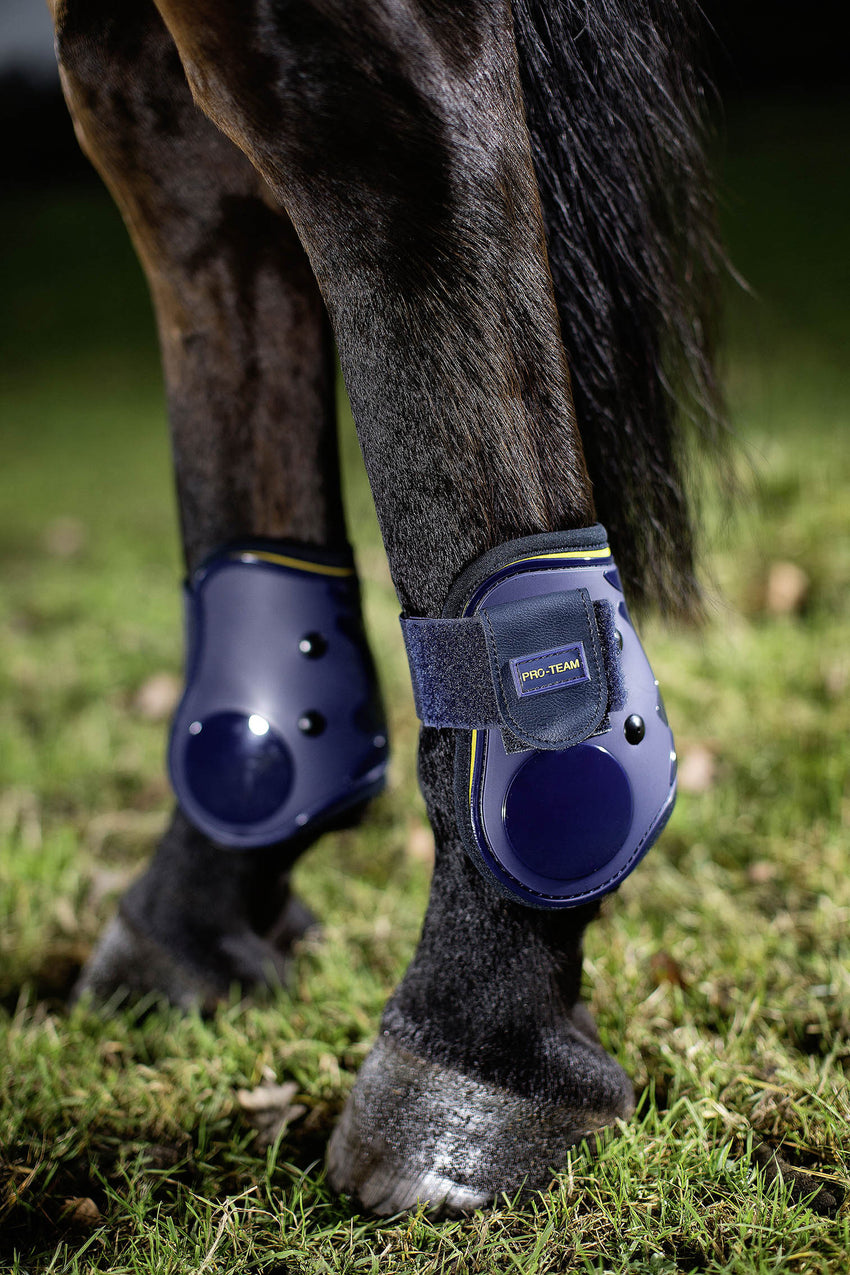 Fetlock Boots Yellow Flash