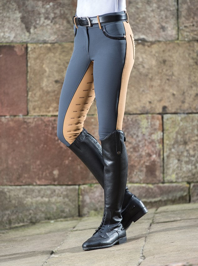 Two tone silicone seat breeches
