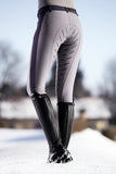Grey Breeches with Silicone Seat